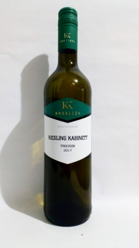 2017/18 Riesling Kabinett trocken, Weingut Knobloch
