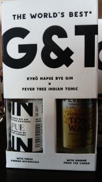 G&T Paket mit Napue Rye Gin & Fever Tree Indian Tonic