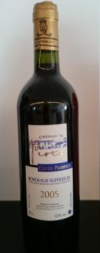 2005 Chateau Piote, Cuvee Prestige AOC, Piote