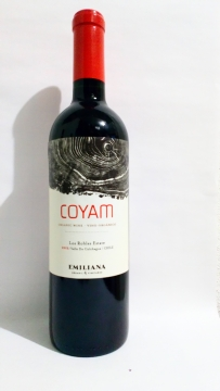 2015 Coyam DO trocken, Vinedos Emiliana